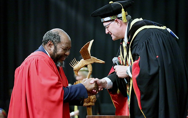 Former Statistician-General of South Africa Receives Honorary Degree