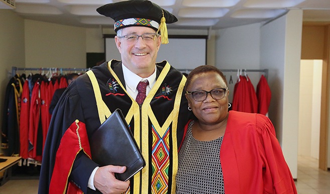 Honorary Graduate is making a Name for African Science