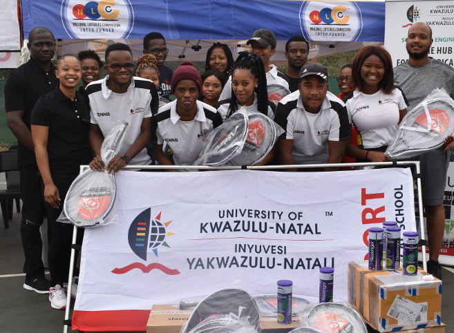 KZN Tennis Association and AfriHuB Boost UKZN Tennis