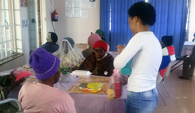 Masters Research Assistant Hosts Grandparents' Day at Edendale Home