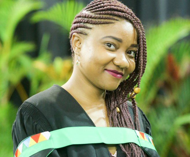 Passion for Solving Scientific Puzzles Earns Mdluli a Master's Degree