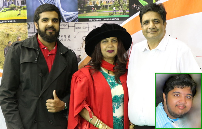 PhD Graduate's Doctoral Studies Dedicated to Late Son