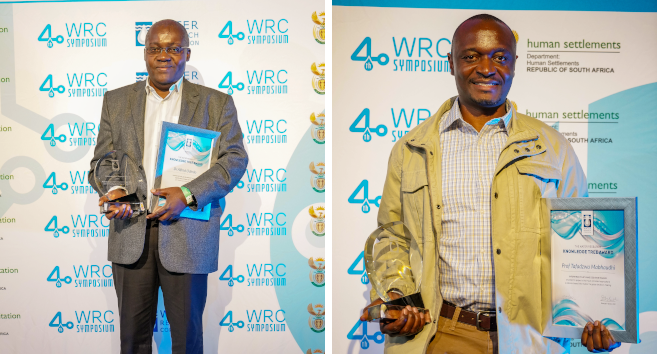 Crop Science Researchers Recognised by WRC for Contributions to Water Sector