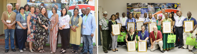 UKZN Staff Members Recognised for Long Service