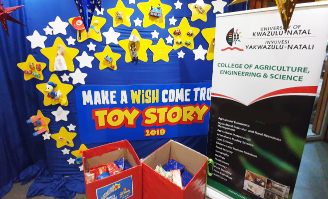 UKZN College Donates over 100 Toys to ECR's Toy Story Campaign